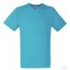 Camiseta personalizada Value Cuello V Publicidad Color Azul Azure