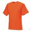 Camiseta de Trabajo Resistente Publicitaria color Naranja