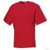 Camiseta de Trabajo Resistente Merchandising color Rojo Clásico