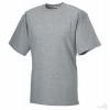Camiseta de Trabajo Resistente con Logo Color Gris Oxford Claro
