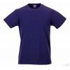 Camiseta Promocional Slim T Publicidad Color Púrpura