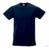 Camiseta Promocional Slim T Personalizada Color Azul Marino Oscuro