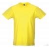 Camiseta Promocional Slim T Publicidad Color Amarillo