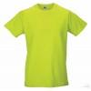 Camiseta Promocional Slim T Merchandising Color Verde Lima