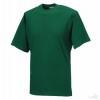 Camiseta Clasica de Publicidad Merchandising Color Verde Botella