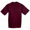 Camiseta Clasica de Publicidad Personalizada Color Burgundy