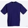 Camiseta Clasica de Publicidad para Empresas Color Púrpura