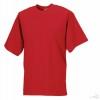 Camiseta Clasica de Publicidad para Empresas Color Rojo Clásico