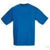 Camiseta Clasica de Publicidad Barata Color Azul Azure