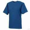 Camiseta Clásica Alto Gramaje Personalizada Color Azul Royal Brillo