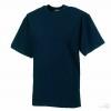Camiseta Clásica Alto Gramaje Merchandising Color Azul Marino Oscuro