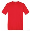 Camiseta Promocional Técnica Transpirante con Logo Color Rojo