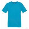 Camiseta Promocional Técnica Transpirante Publicitaria Color Azul Azure