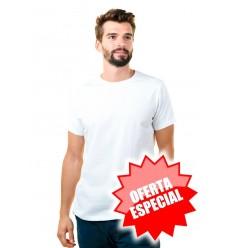 Camiseta Blanca Barata Personalizada para Publicidad y Serigrafía