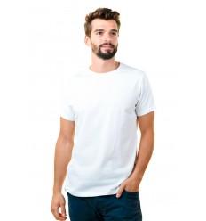 Camiseta Blanca Barata Personalizada para Eventos Publicitarios Color Blanco