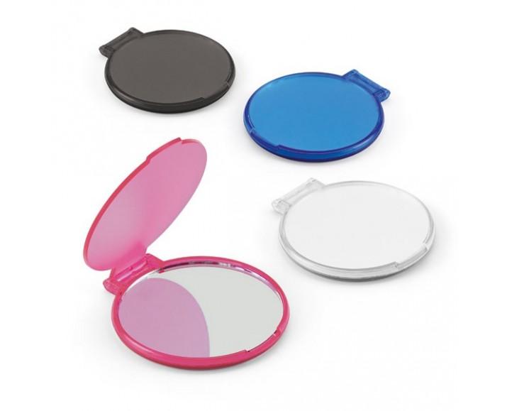 Espejo de Maquillaje Redondo de Plástico con Logo para ... - photo#34