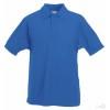 Polo Promocional 65/35 Infantil para Publicidad color Azul Royal