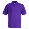 Polo Promocional 65/35 Infantil Personalizado Color Púrpura
