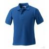 Polo Resistente Publicitario Infantil Barato Color Azul Royal