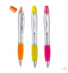 Bolígrafo y Marcador en Color Fluorescente