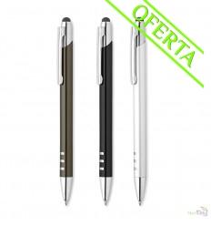 Bolígrafo con Pulsador en Aluminio Merchandising