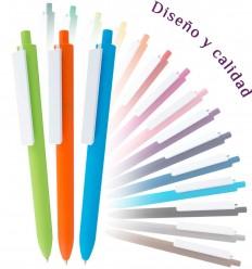 Bolígrafo Personalizado Clip Grande Blanco para Empresas