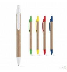 Bolígrafo Ecológico en Papel Craft y Plástico Merchandising