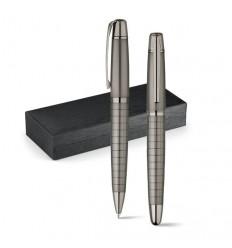 Set Roller y Bolígrafo Elegance para Publicidad Promocional