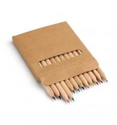 Caja con 12 Lápices de Color Promocional
