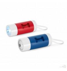 Porta Bolsas Personalizada con Linterna LED y Mosquetón