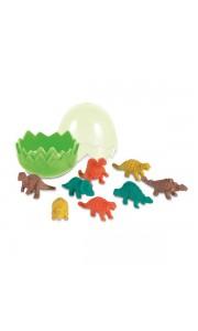 Set de Gomas con forma de Dinosaurio