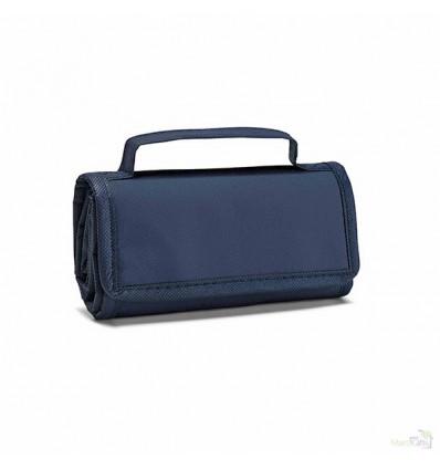 Bolsa Térmica Plegable con Cierre de Velcro Promocional Color Azul