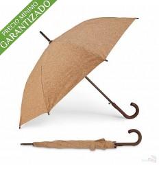Paraguas Personalizado Ecológico de Corcho
