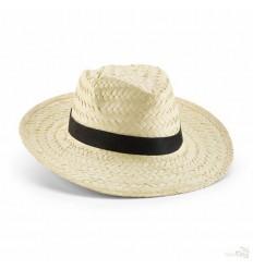 Sombrero Personalizado de Paja Natural Color Natural