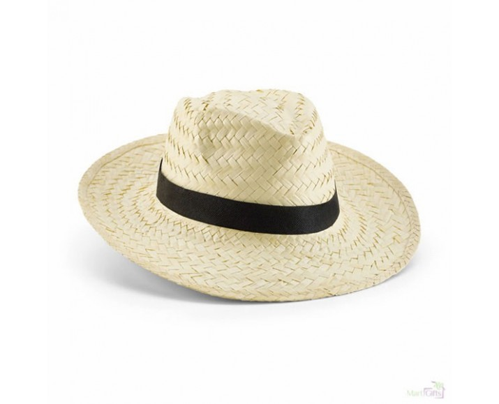 68f8409c3ba51 Sombrero Personalizado de Paja Natural Color Natural