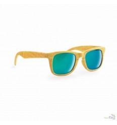 Gafas de Sol Clásicas con Acabado Efecto Madera Promocional
