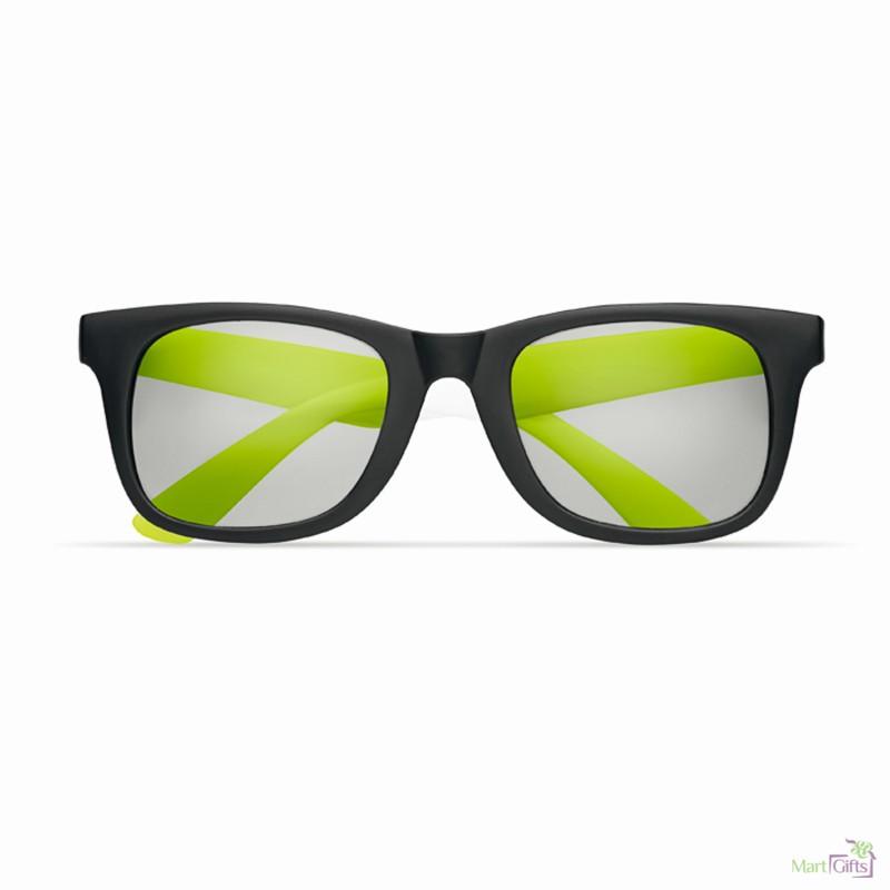 Gafas De Y Publicitaria Color Patillas Sol Montura Negras Con q3jc4SARL5