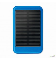 Power Bank con Panel Solar en Aluminio Promocional