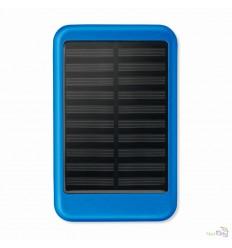 Power Bank con Panel Solar en Aluminio Promocional