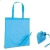 Bolsa Plegable con Asas para Regalo de Empresa Color Azul Claro