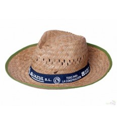 Sombrero de Paja con Publicidad - Imagen de Portada