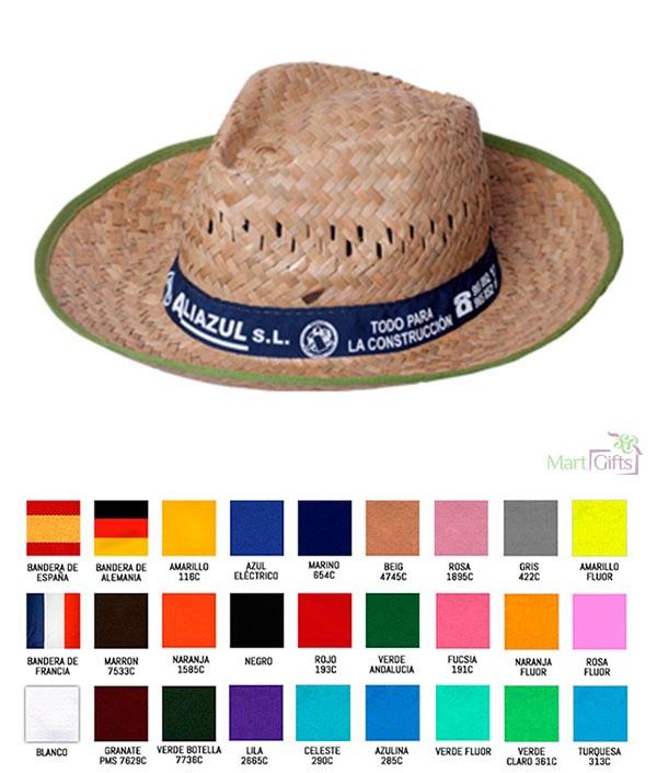 a19aed21a73 Sombrero de Paja con Publicidad - Regalos Empresa Personalizados