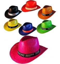 Sombrero de Paja de Colores Tejano - Imagen de Portada