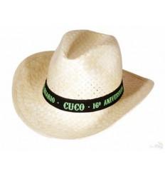 Sombrero de Paja Tejano Barato con Logo - Imagen de Portada