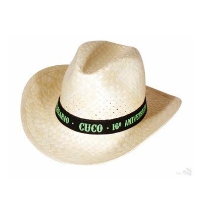 503d1d3d86221 Sombrero de Paja Tejano Barato para Fiestas - Regalos Personalizados
