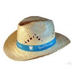 Sombrero de Paja Tejano Estilo Cowboy - Imagen de Portada