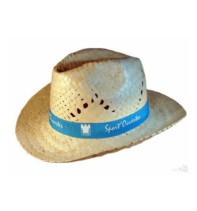 Sombrero de Paja Tejano Estilo Cowboy - Regalos Personalizados dce6283f4c9