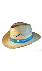 Sombrero de Paja Tejano Estilo Cowboy