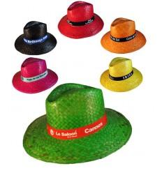 Sombrero de Paja de Colores Indiana - Imagen de Portada