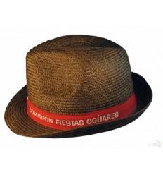 Sombrero de Trencilla estilo Tirolés Barato - Imagen de Portada color Marrón